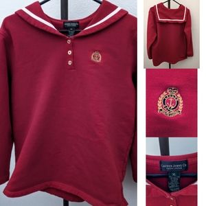 Preppy Nautical Sweatshirt from Lauren Jeans Co.